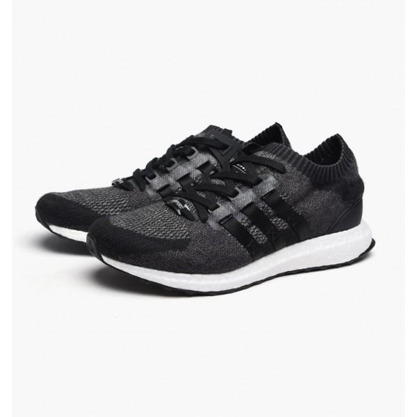 Adidas Men Equipment Support Ultra Primeknit Black White Shoes BB1241