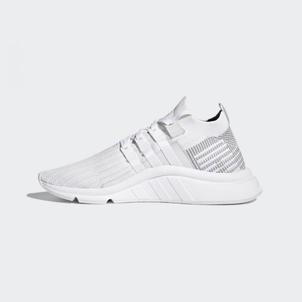 Adidas Men EQT Support Mid ADV Primeknit White Gre...