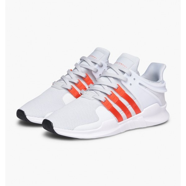 Adidas Men EQT Support ADV White Orange Running Shoes BY9581