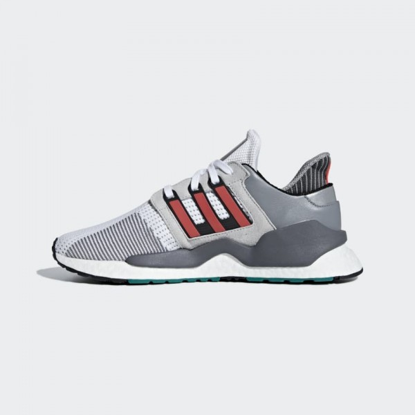 Adidas Men EQT Support 91/18 White Red Grey B37521