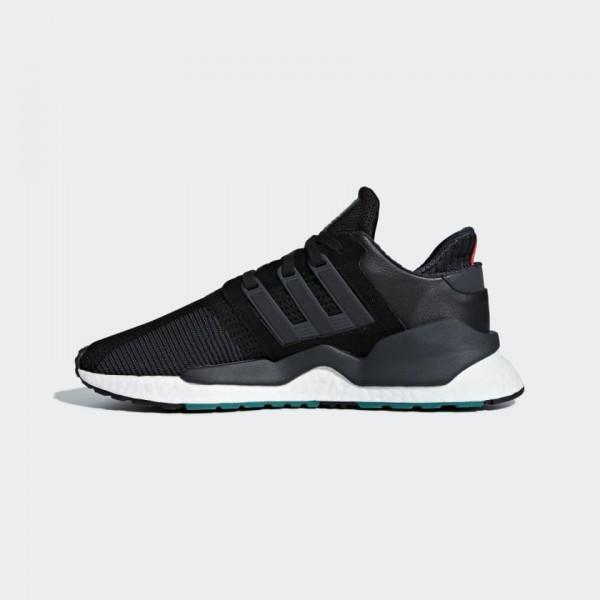 Adidas Men EQT Support 91/18 Shoes Black White B37...