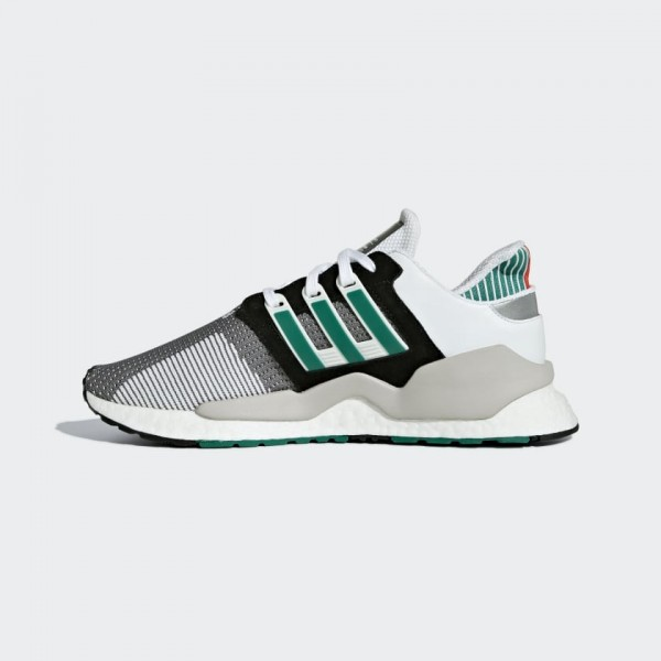 Adidas Men EQT Support 91/18 Core Black/Green AQ10...