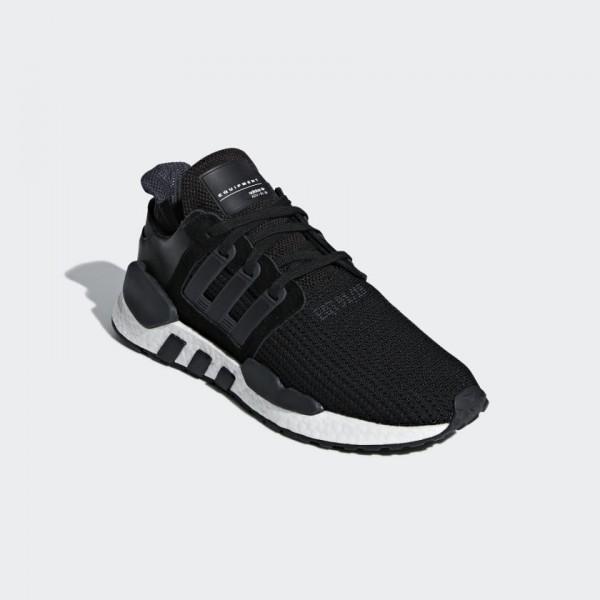 Adidas Men EQT Support 91/18 Shoes Black White B37520