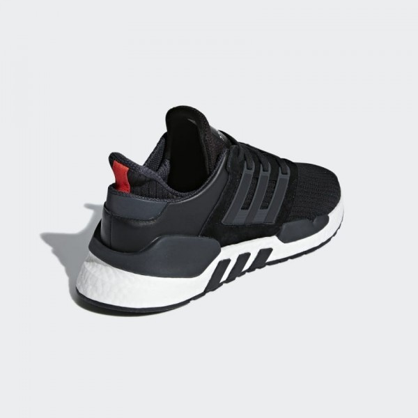 Adidas Men EQT Support 91/18 Shoes Black White B37520