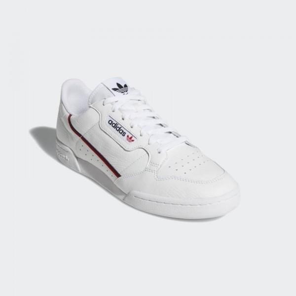 Adidas Men Continental 80 Shoes Blue/Red/Navy B41673