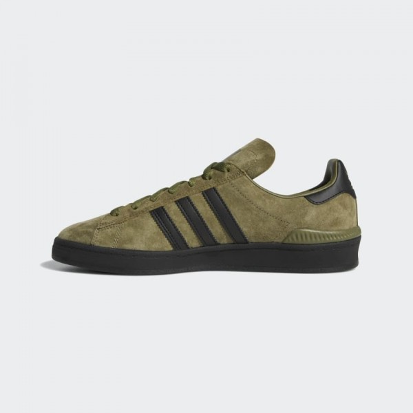 Adidas Men Campus ADV Shoes Green Black B22717