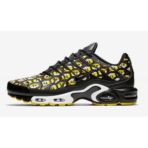 903827-002 Nike Air Max Plus Black Yellow White Me...