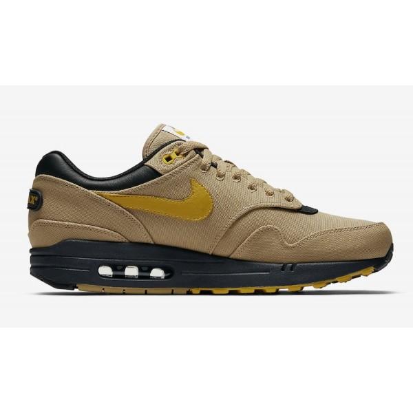 875844-700 Nike Air Max 1 Premium Elemental Gold/Yellow/Black