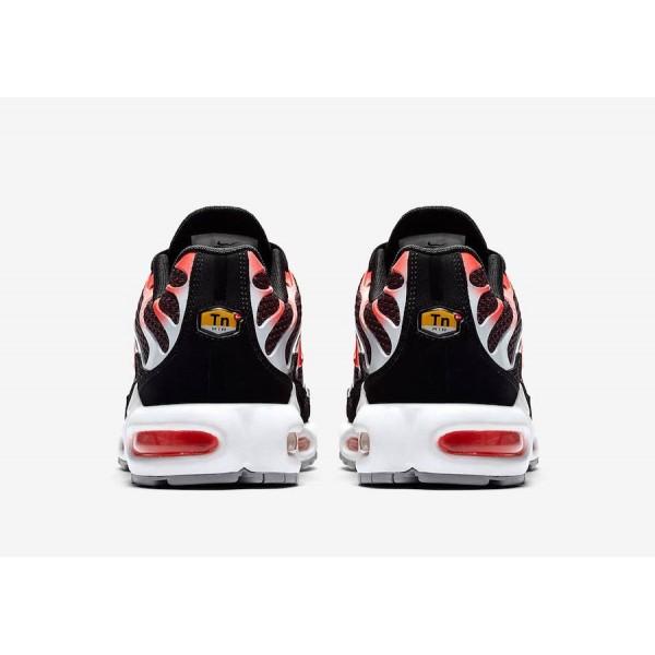 852630-034 Nike Air Max Plus Bright Red Black Men Shoes