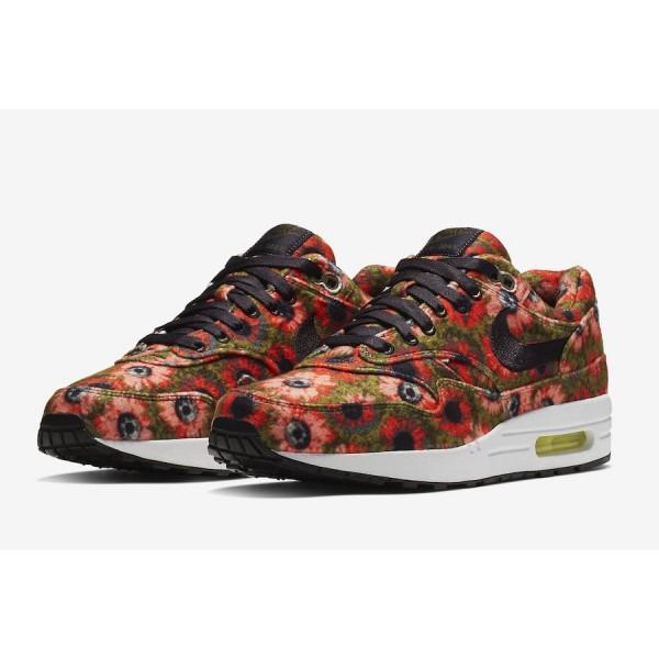 858876-003 Nike Air Max 1 Premium Solar Daisy Black Shoes
