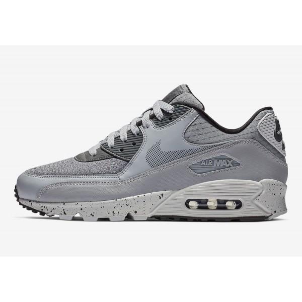 700155-016 Nike Air Max 90 Premium SE Wolf Grey Pu...