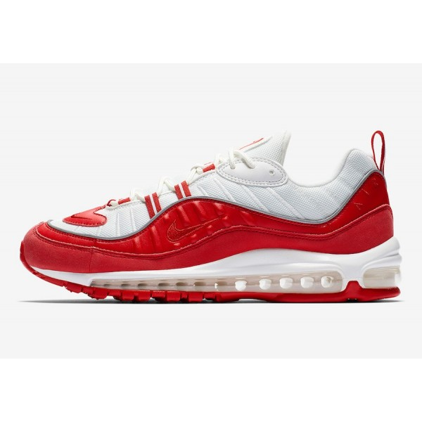 640744-602 Nike Air Max 98 University Red Shoes