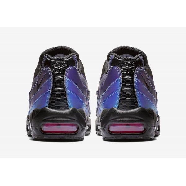 538416-021 Nike Air Max 95 Black Laser Fuchsia Men Shoes