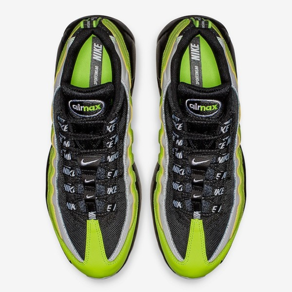 538416-701 Nike Air Max 95 Barely Volt White Men Shoes