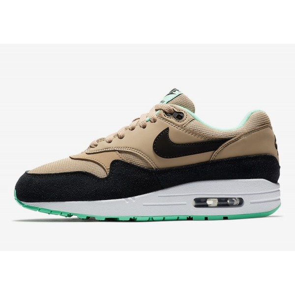 319986-206 Nike Air Max 1 Mint Green Brown Women S...