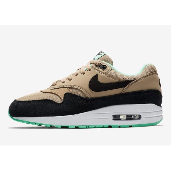 319986-206 Nike Air Max 1 Mint Green Brown Women S...