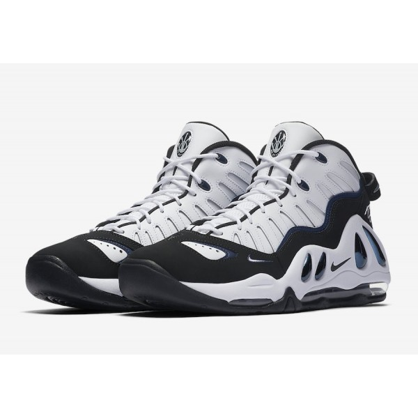 399207-101 Nike Air Max Uptempo 97 White Black College Navy Men Shoes