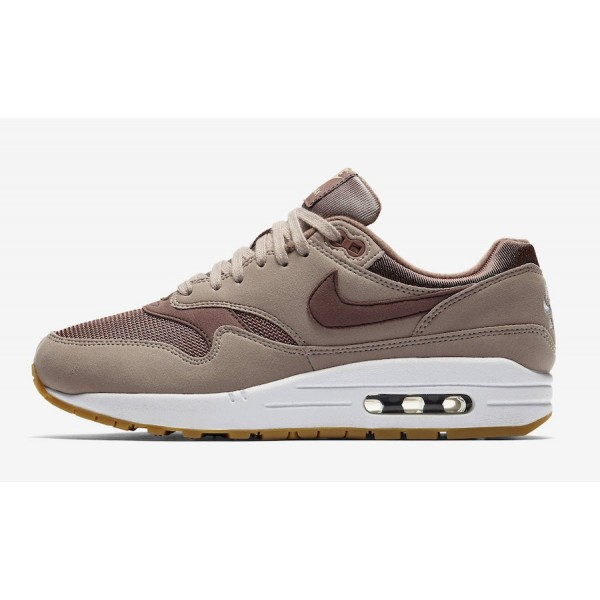 319986-204 Nike Air Max 1 Diffused Taupe Brown Wom...