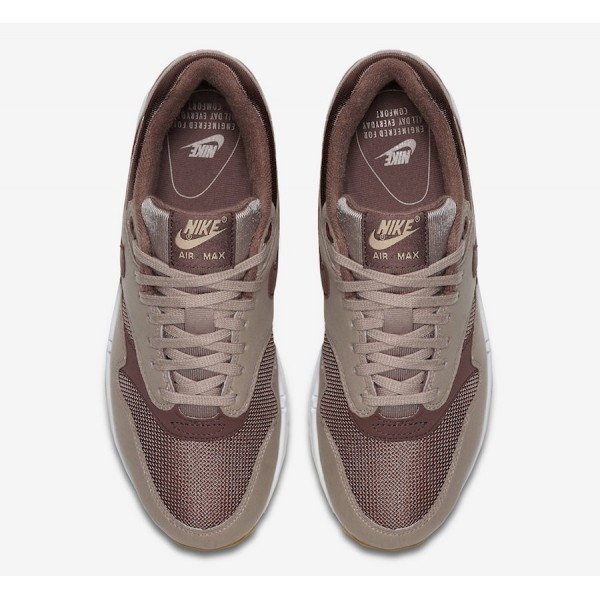 319986-204 Nike Air Max 1 Diffused Taupe Brown Women Shoes