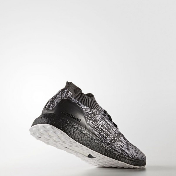 "Adidas Men Ultra Boost Uncaged Glitch Camo ""Triple Black"" Shoes S80698"