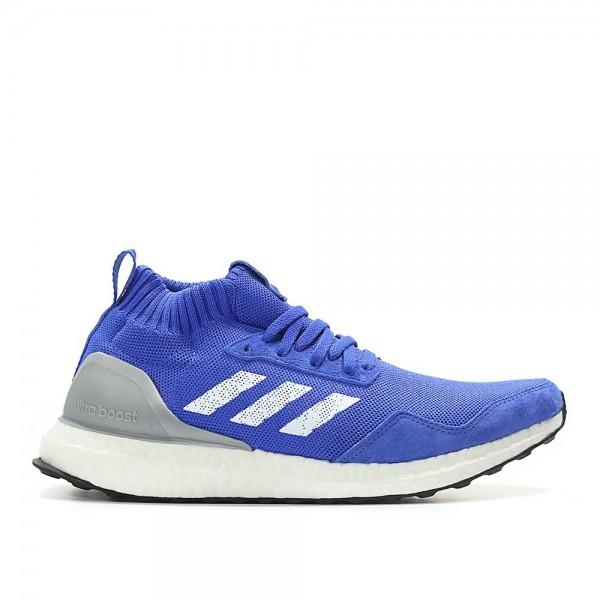 Adidas Men Ultra Boost Mid Run Thru Time Blue Shoe...