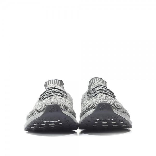 Adidas Men Ultra Boost LTD Uncaged Pack Zebra Silver Shoes BA7997