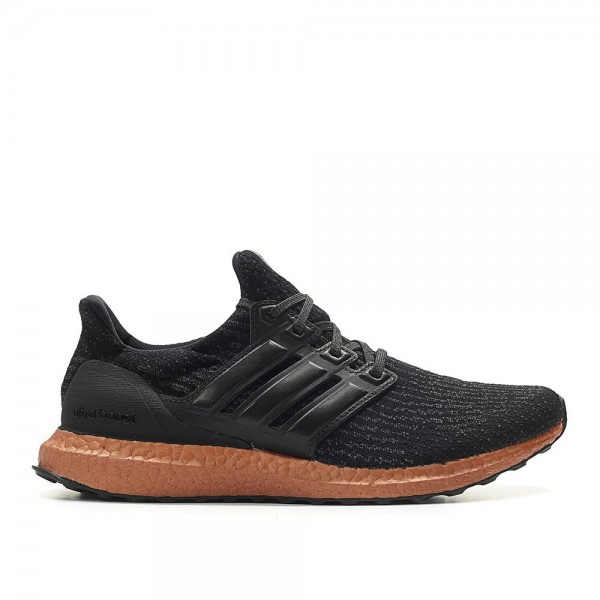 Adidas Men Ultra Boost 3.0 Tech Rush Black Shoes C...