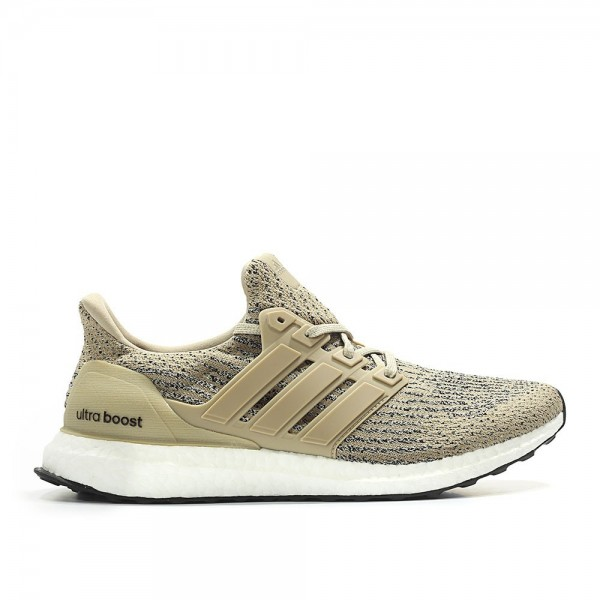 Adidas Men Ultra Boost 3.0 Khaki Brown Shoes CG303...