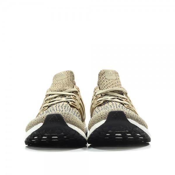 Adidas Men Ultra Boost 3.0 Khaki Brown Shoes CG3039