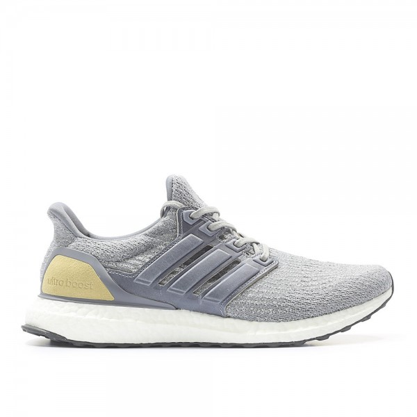 Adidas Men Ultra Boost 3.0 Grey Linen Khaki Shoes ...