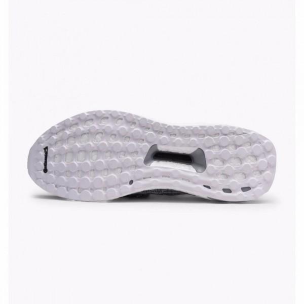 Adidas Men Originals Ultra Boost Uncaged White Dark Blue Shoes BA9616
