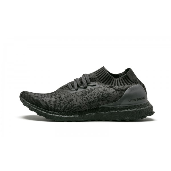 "Adidas Men Originals Ultra Boost Uncaged ""Triple Black"" Shoes BA7996"