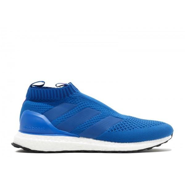 Adidas Men Ace 16+ Purecontrol Ultra Boost Blue Pi...