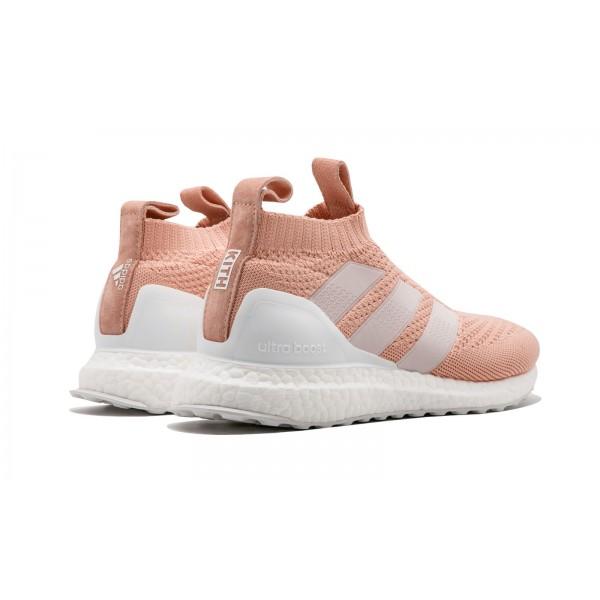 Adidas Men Ace 16+ Ultra Boost Clear Granite/Vapour Pink Shoes CM7890