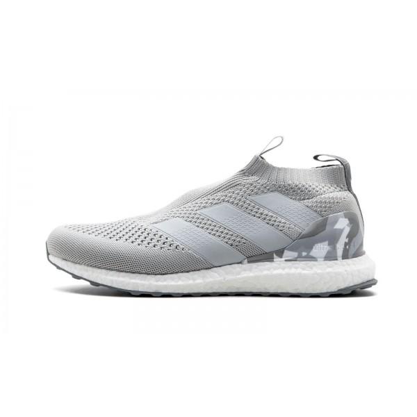 Adidas Men Ace 16 Pure Control Ultra Boost Grey Ca...