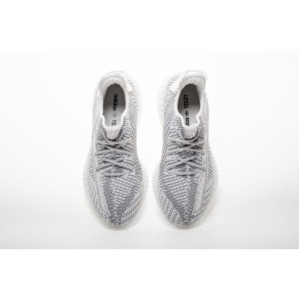 "Adidas Unisex Yeezy Boost 350 V2 ""Static"" Silver White EF2905"