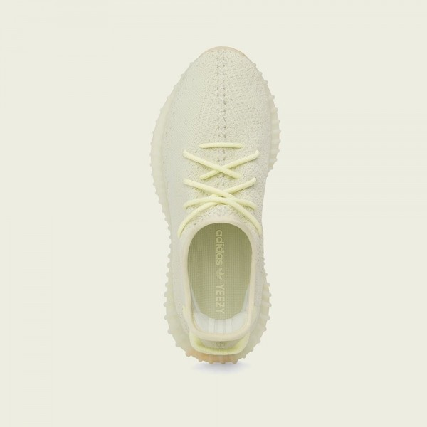 """Adidas Unisex Yeezy Boost 350 V2 """"Butter"""" Shoes F36980"""