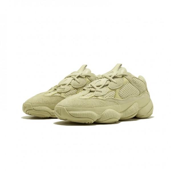 Adidas Unisex Yeezy 500 Super Moon Yellow Sneakers DB2966
