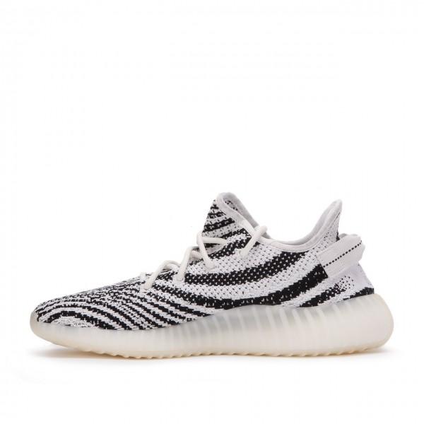 Adidas Unisex Yeezy 350 V2 Boost Kanye West Zebra Black White Shoes CP9654