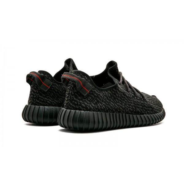 Adidas Unisex Originals Kanye West Yeezy 350 Boost Black Shoes AQ2659
