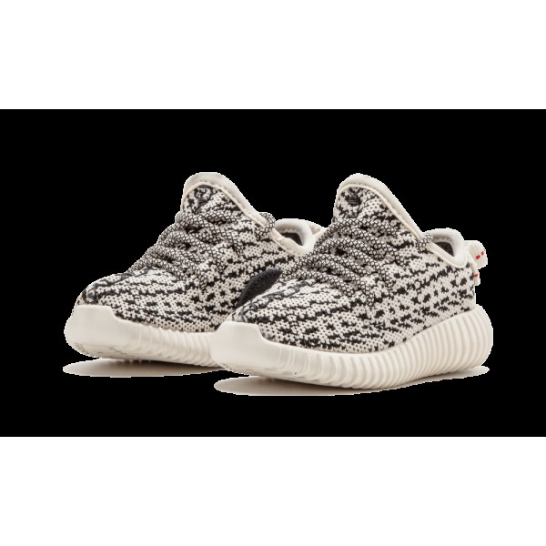 Adidas Kids Yeezy Boost 350 Turtle Dove Black Shoes BB5354