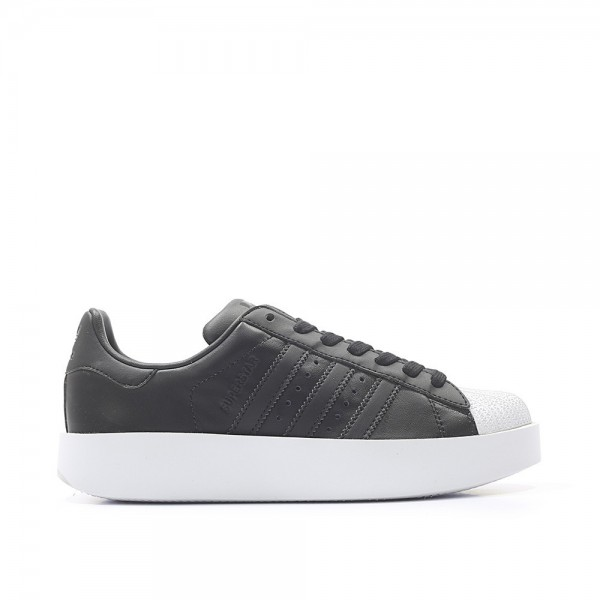 Adidas Women Originals Superstar Black White Shoes...