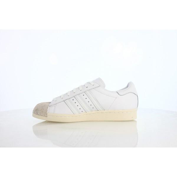 Adidas Women Originals Superstar 80s White Shoes BY8708