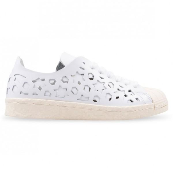Adidas Women Originals Superstar 80s White Shoes B...