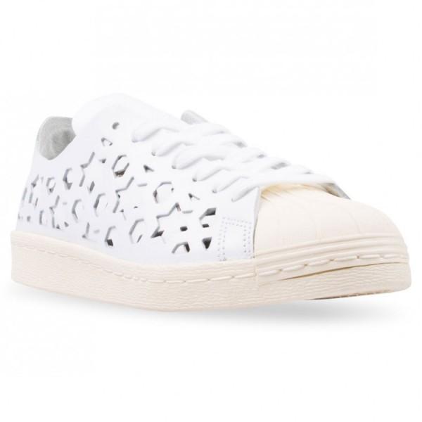 Adidas Women Originals Superstar 80s White Shoes BB2129