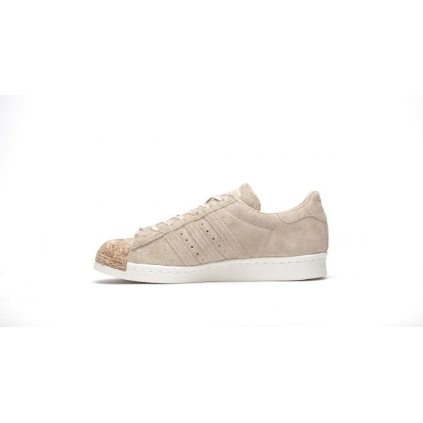 Adidas Women Originals Superstar 80s Cork Brown Wh...