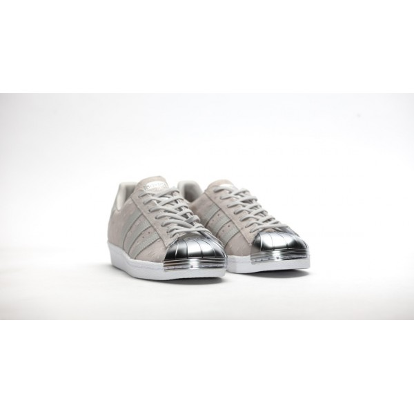 Adidas Women Originals Superstar 80s Metal Toe Grey Shoes S76711