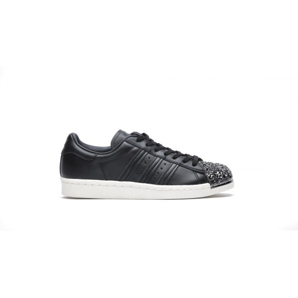 Adidas Women Originals Superstar 80s Black White S...