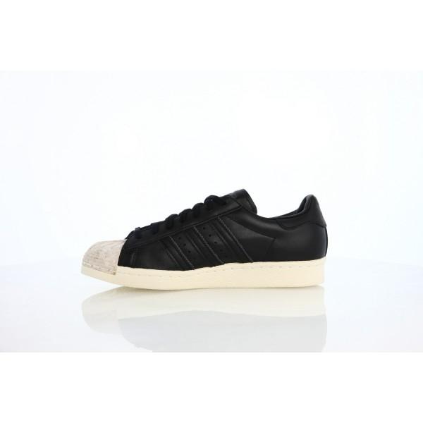 Adidas Women Originals Superstar 80s Black Shoes BY8707