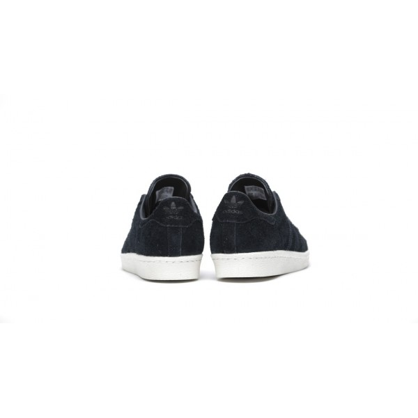 "Adidas Women Originals Superstar 80s ""Core Black"" Shoes BY2963"